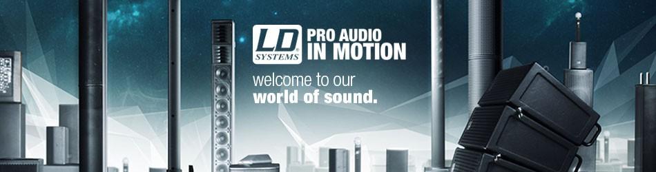 Banner von LD Systems