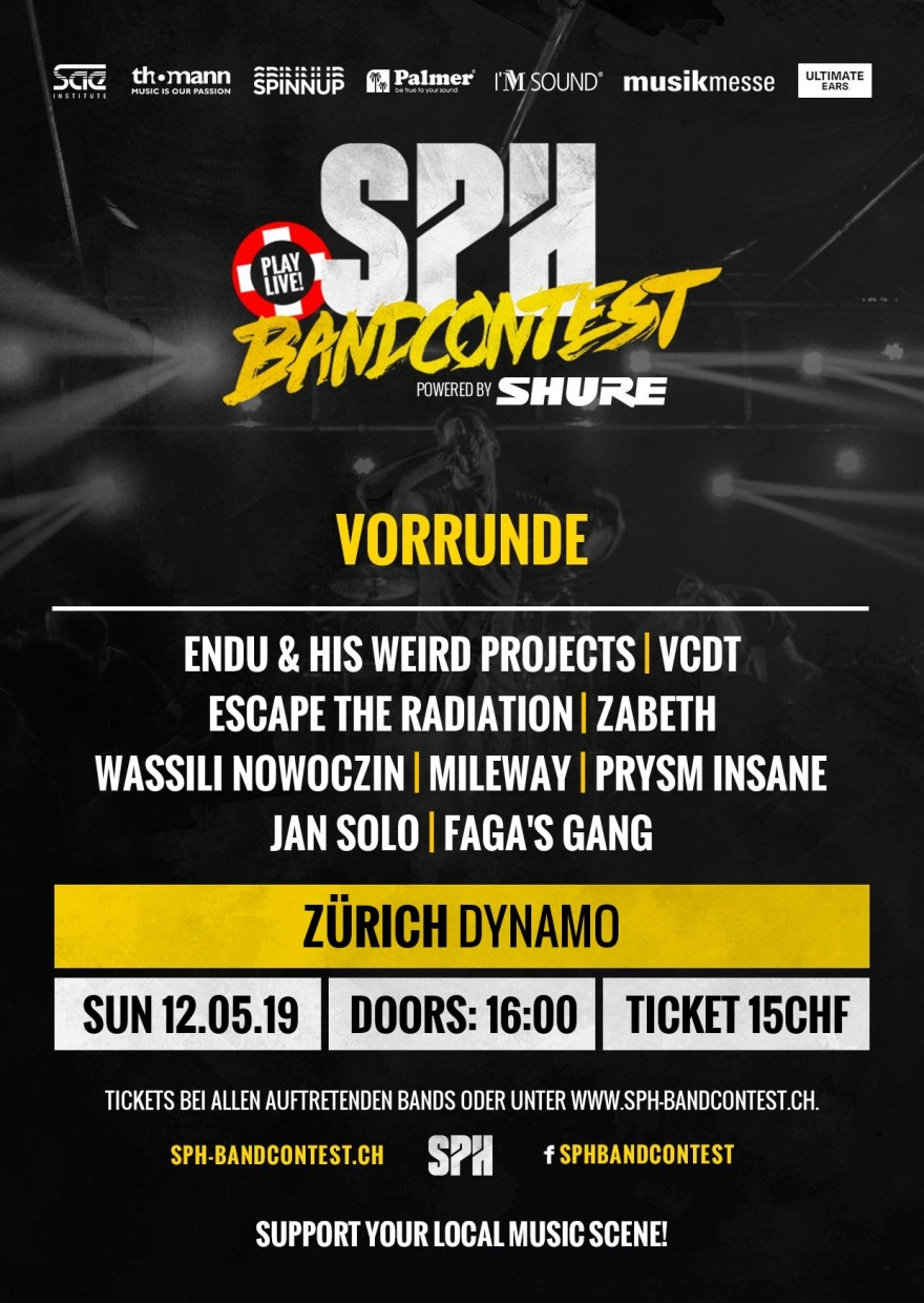 SPH Bandcontest Flyer